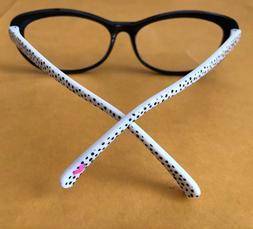 BETSEY JOHNSON +1.50 Glasses Readers Eyeglasses +1.5 BLACK C