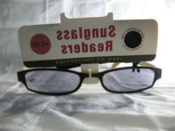 100% UV Yellow or Pink Womens Sunglasses Readers Sunreaders