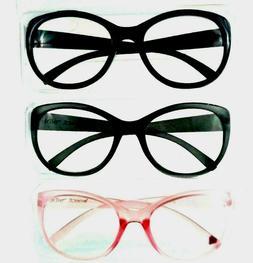 3 Pack Betsey Johnson Over sized Eye Readers +2.50 Women Rea