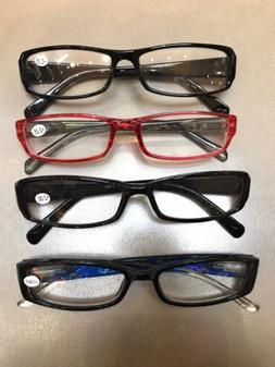 4 Pack   + 2.00  And +2.25 Reading Glasses  - Features A Cle