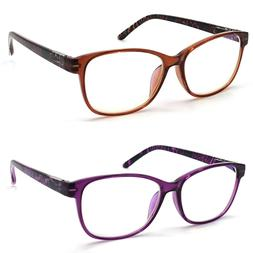 Anti Blue Light & Anti Block Glare Computer Reading Glasses