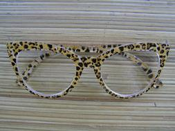 Beautiful BETSEY JOHNSON CHEETAH READERS in 2.00~Over-Sized