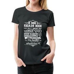 Book Reader Fantasy World Quote Women's Premium T-Shirt