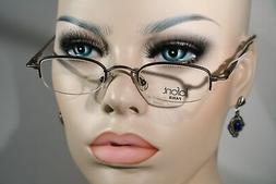 LAFONT 'CAID' Unisex Semi Rimless Small Lenses Glasses Eyegl
