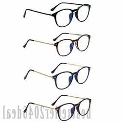 Computer Reading Eye Glasses Anti Blue Light Blocking Lens E