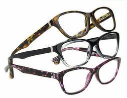 Design Optics by Foster Grant Jana Full Rim Women 3 pack Rea