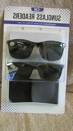 Icon Eyewear Sunglass Readers- UV 400 - Seamless Magnificati