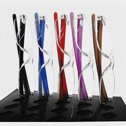 Flexible Rimless Reading Glasses Readers Spectacles 1.00 1.5