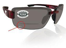 Costa Del Mar Galveston 580P Sunglasses Bifocal +2.5 Readers