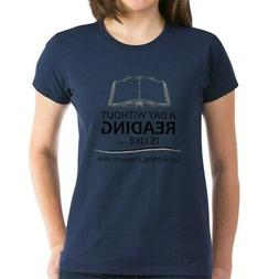 CafePress Gifts For Readers T Shirt Women's Cotton T-Shirt
