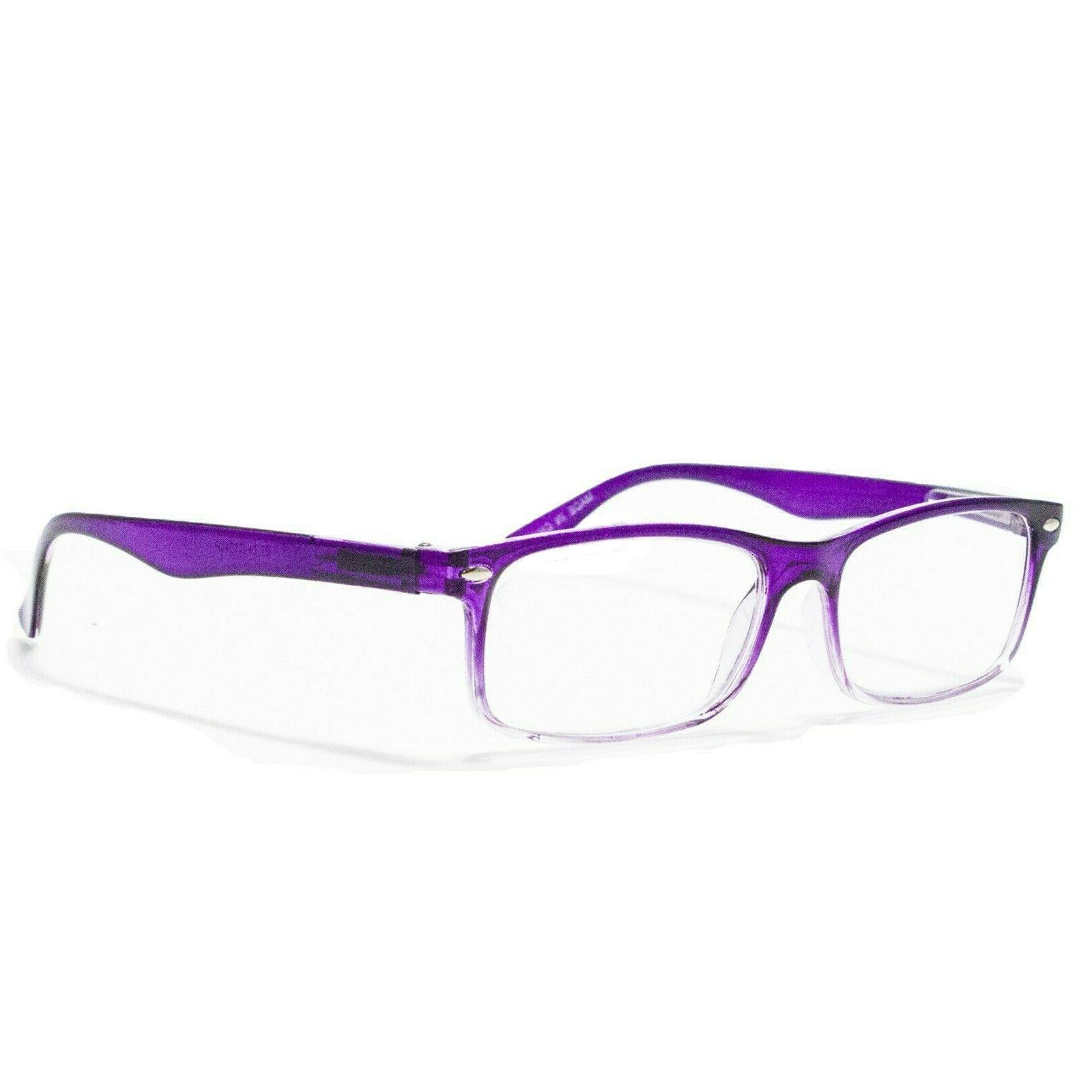 4 Hinge Power Reading Glasses Mens Womens 1-3