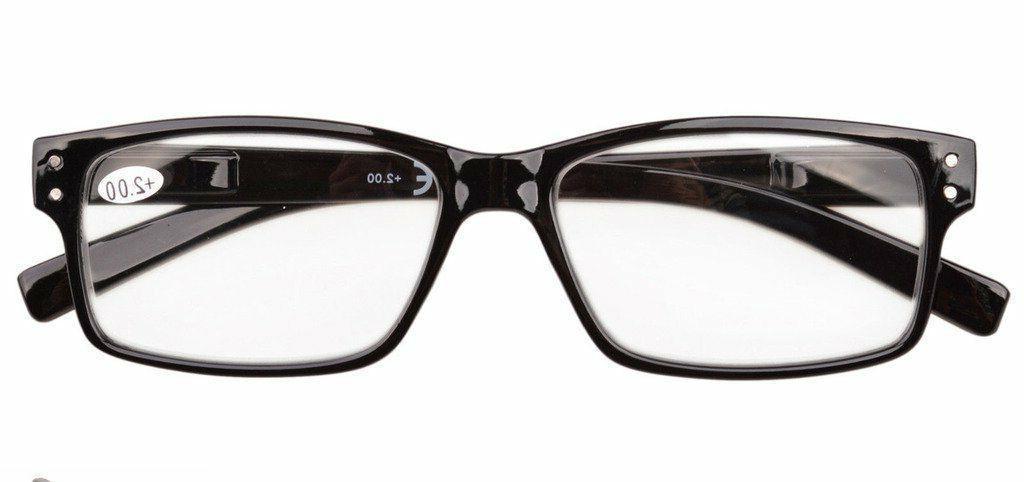 Eyekepper Men's Hinges Vintage Reading Glasses Or Readers