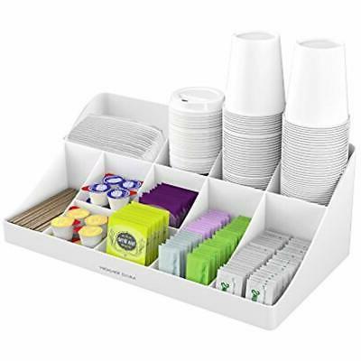 breakroom 11 compartment condiment holder