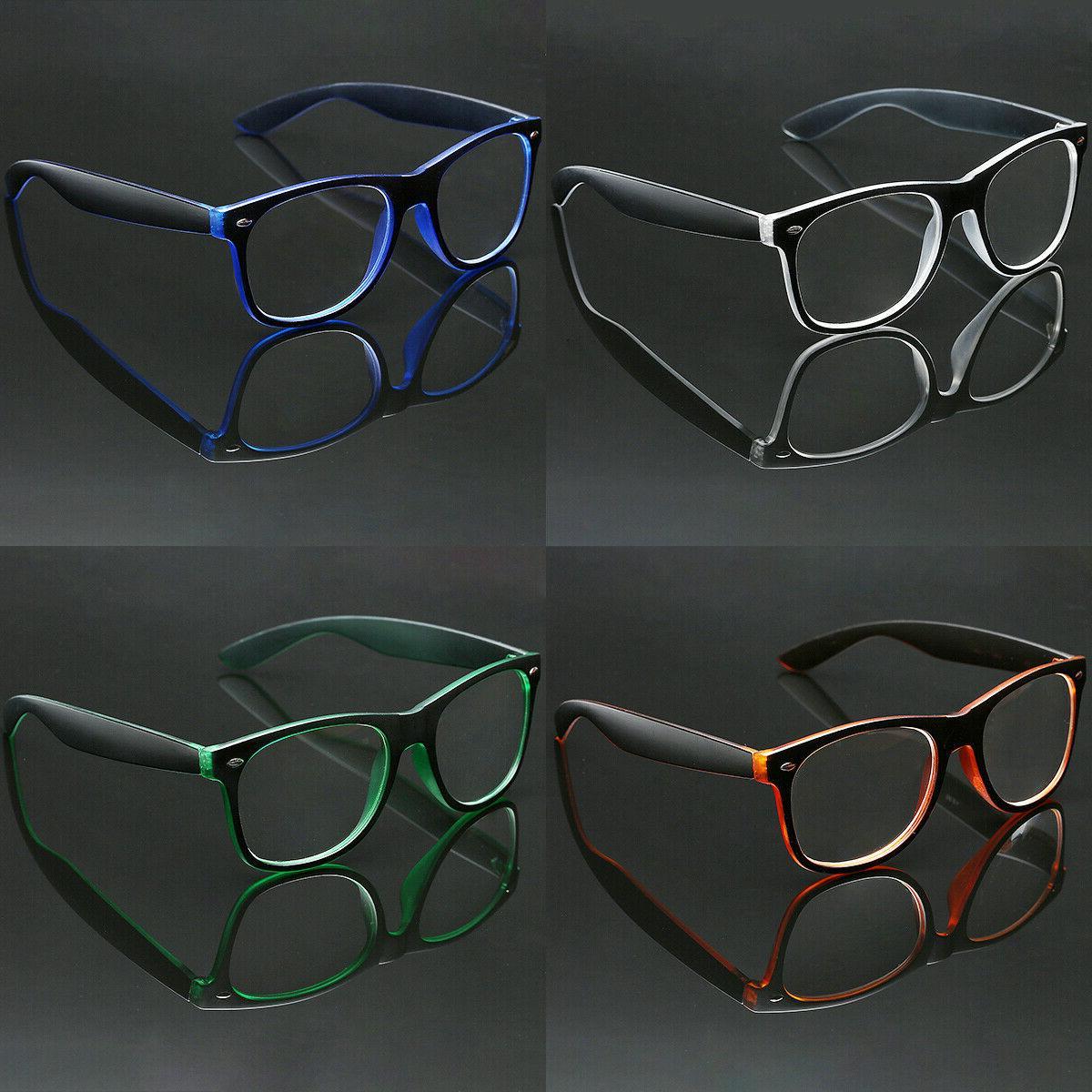 men women retro reading eye glasses fashion