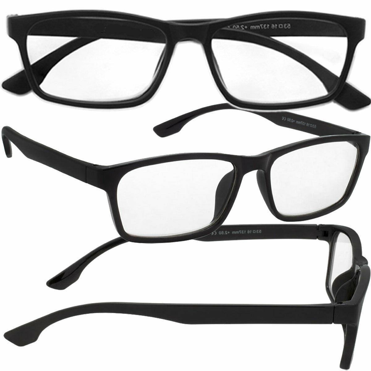 Mens Glasses 8 PACK Readers Specs NEW