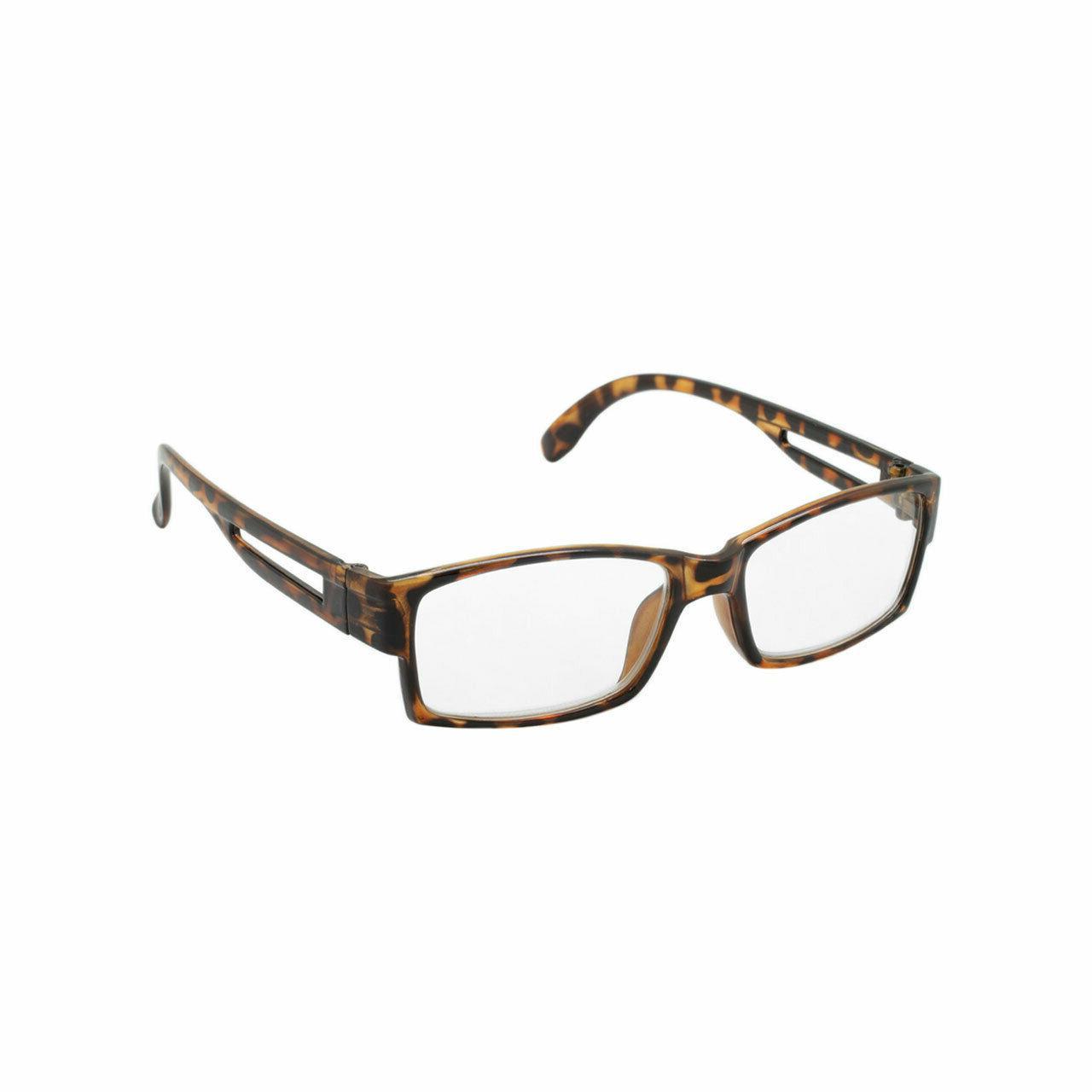 Reading Glasses Readers 6 PACK Square Frame Unisex Specs NEW