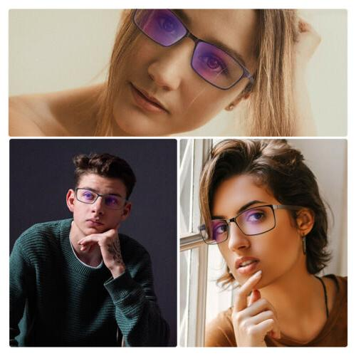 BLUE LIGHT Blocking Reader Glasses for Men & Women