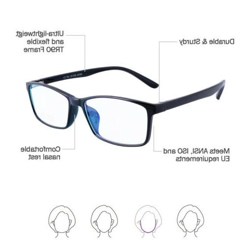 Blue Readers Glasses Fatigue