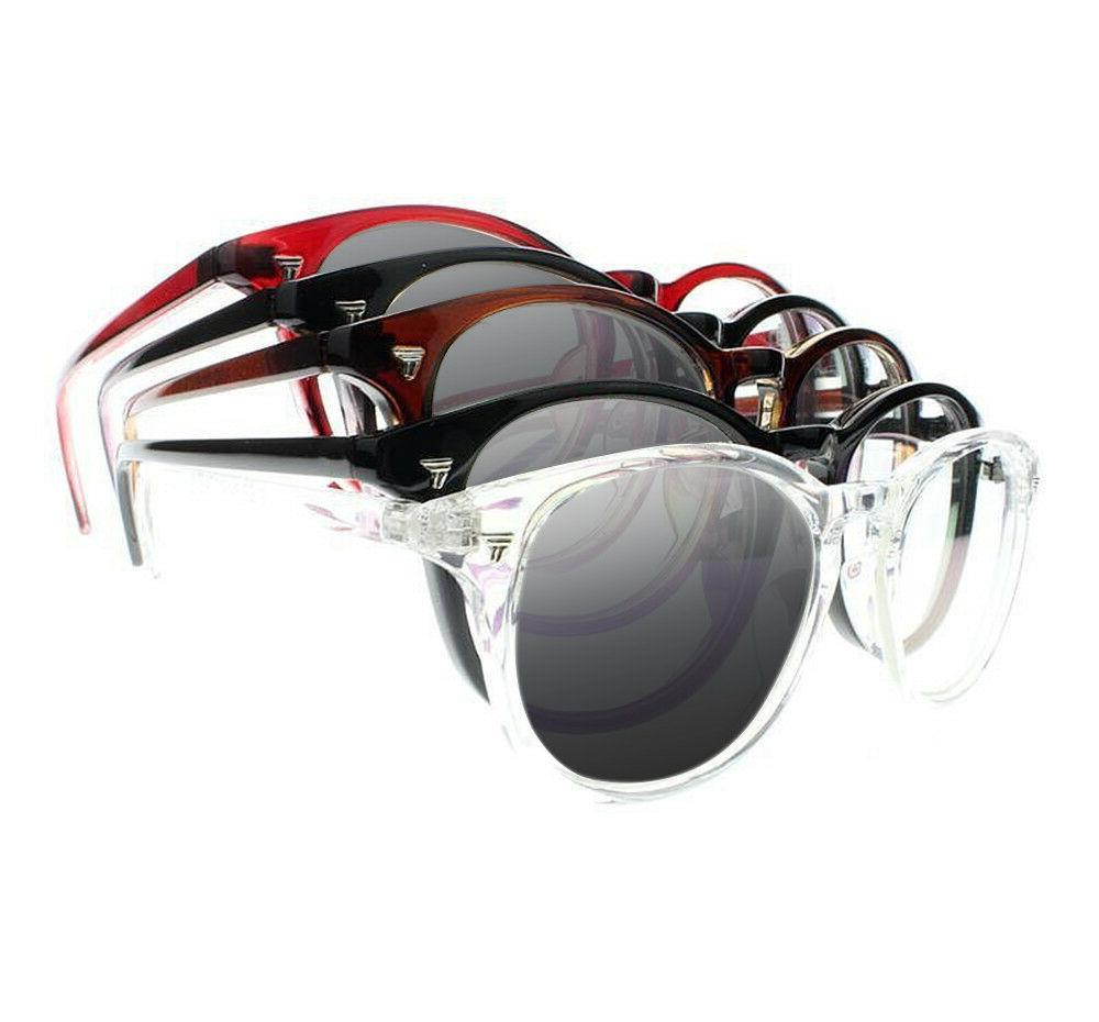 photochromic oval frame 8 colors reading glass