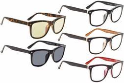 Eyekepper Large Frame Spring-Hinges Reading Glasses Include