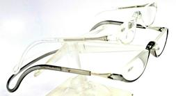 Magnetic Clic Readers Glasses In An Oval Half Frame # 75