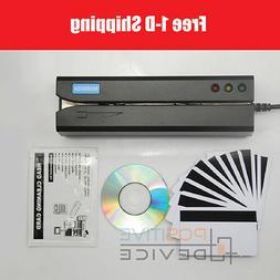 MSR605X Magnetic Stripe Card Reader Writer Encoder Credit Ma