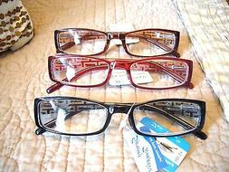 """MEN OR LADIES """"EXTRA STRENGTH"""" READING GLASSES/MAGNIFIERS  3"""