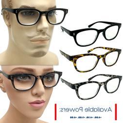 Men Women High Power EXTRA STRENGTH Reading Reader Glasses 4