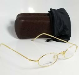 NEW POLO RALPH LAUREN 1859 0000 gold reading glasses compute