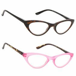 New 6 Colors Women Retro Vintage Cat Eye Reading Glasses Rea