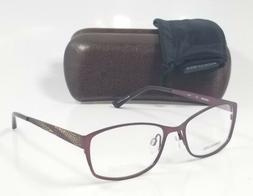 NEW ARISTAR AR18425 577 purple cat eye custom reading glasse
