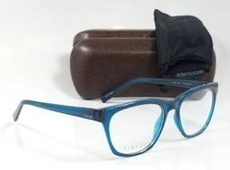 NEW ESPRIT ET17538 547 teal custom reading glasses computer