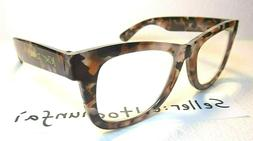 New Betsey Johnson Large Thick Frame Readers +2.5 Women Read