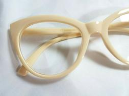NEW Betsey Johnson Oversized Cat Eye Reading Glasses Opaque