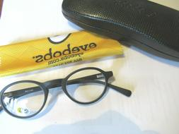 NEW Readers EYE BOBS Matte BLACK BOARD STIFF eyebobs +2.0  F