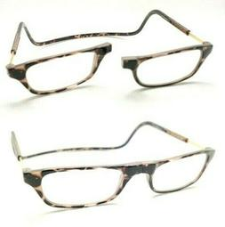 Clic Original Magnetic Magnified Readers Tortoise 02 New Aut