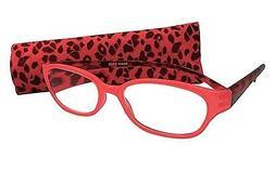 Pink Cheetah Print Womens Slim Artwear Reading Reader Glasse