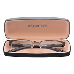readers reading glasses half frame metal deluxe