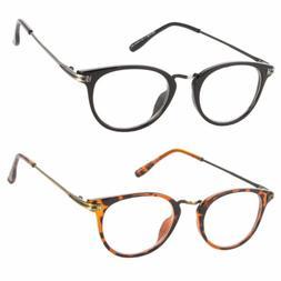 Readers  Women Fashion Reading Glasses Round Retro Vintage