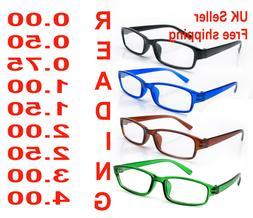 Reading Glasses 4 Packs Mens Womens UV Reader Trendy Designe
