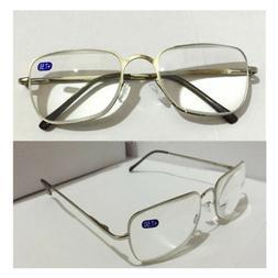 Reading Glasses +6.5 7.0 7.5 8.0 Trendy Women/Men's Metal Fr