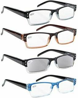 Eyekepper Reading Glasses Includes Sun Readers-4 Pack 3.00 D