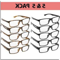 Reading Glasses Men Women Readers Unisex Styles Multi Pack 1