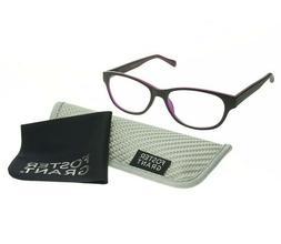 Foster Grant Reading Glasses Multi Focus Zera Black Advanced