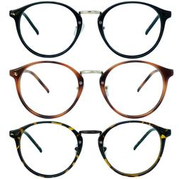 Retro Oval Round Reader Reading Glasses For Men and Women 1.
