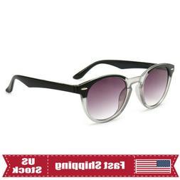 Retro Tinted Gradient Sunglasses Reading Glasses 1.0~3.5 Men