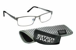 Foster Grant Samson e.Readers Men's Rectangular Glasses