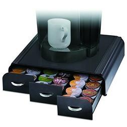 New 36 K-Cup Keurig Black Storage Drawer Mind Reader+free mi