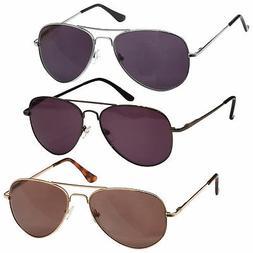 UV Reader Sun Readers Reading Glasses Metal Frame UV400 Mens