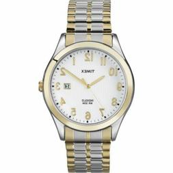 Timex Men's T2N851 Elevated Classics Stainless Steel Dress W
